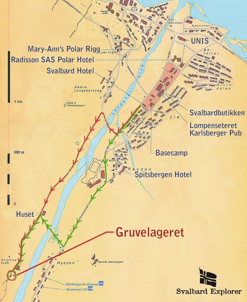 how to get to gruvelageret